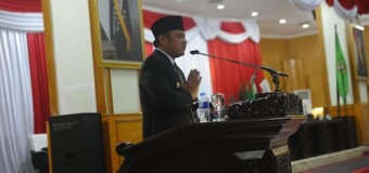Gubernur Sumsel Teken Nota Kesepakatan KUA dan PPAS APBD 2019