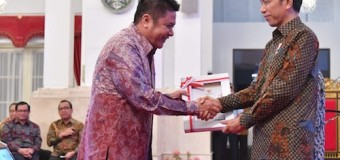 Gubernur Herman Deru Terima DIPA Tahun Anggaran 2019