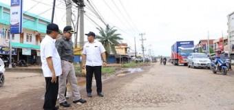 Jalan Negara di Sungai Lilin dan Bayung Rusak, Dodi: Saya Tidak Diam Saja Kita Perbaiki Bersama