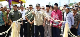 Jalan Mangun Jaya – Sp 1 Diresmikan, Begini Reaksi Warga