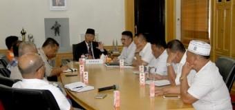 Pemkab Muba dan Perusahaan di Muba Gotong Royong Bersama Perbaiki Jalan Provinsi