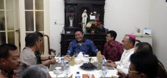 Suasana Peringatan Natal di Sumatera Selatan Aman dan Kondusif