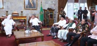 Hadiri Silaturahmi Menhan dengan Ulama, Gubernur Titip Keberkahan Sumsel