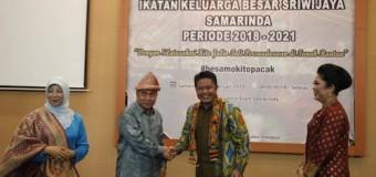 Herman Deru Hadiri Pelantikan IKABESSriwijaya Sumseldi Kalimantan Timur