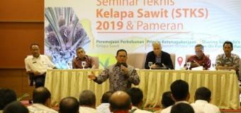 Paparkan Program Berkelanjutan Kelapa Sawit di Muba, Dodi Reza Pukau Peserta STKS