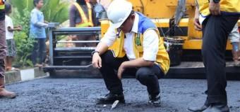 Sukses Penerapan Aspal Karet di Muba, Keluarlah Surat Edaran Menteri kepada Gubernur Sumatera-Jawa-Kalimantan