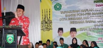 Herman Deru Bangga Rumah Tahfidz Tumbuh Subur di PALI