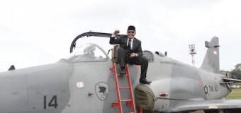 Hadiri Pameran Alut Sista TNI, Gubernur Bangga dengan TNI