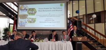 Dodi Reza Alex Noerdin Paparkan Biofuel Minyak Sawit Muba di Ajang Indonesia-USA Renawble Energy Business Forum Houston