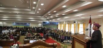 Gubernur Sumsel H. Herman Deru Hadiri HUT ke-18 Kota Pagaralam