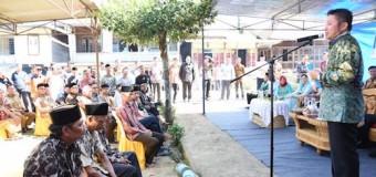 Serahkan Bantuan untuk Korban Banjir dan Longsor Sindang Panjang, Herman Deru Semangati Warga untuk Setia Bertani