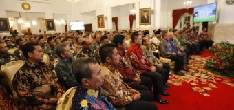 Rakor Pengendalian Karhutla, Presiden Joko Widodo Minta Pemda Prioritaskan Pencegahan Karhutla