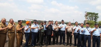 Gubernur Gelar Rakor Karhutla dan Tinjau Kesiapan Alat Pemadaman Jalur Udara