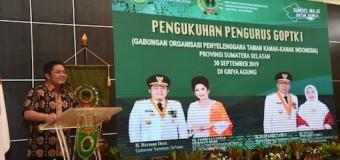 Kukuhkan Pengurus GOPTKI Sumsel, HD: Taman Kanak – Kanak Tungku Pertama Pendidikan