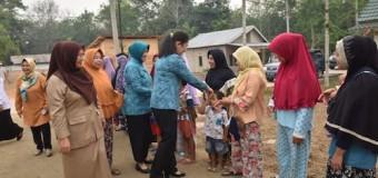 Feby Deru Jadikan Kelurahan Talang Kepuh Gandus Menjadi Kelurahan Percontohan
