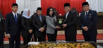 Gubernur Sumsel dan Pimpinan DPRD Tandatangani KUA PPAS