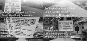 Rp11,5 Miliar Bangub HD Mengucur ke Kabupaten OKU
