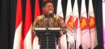 Gubernur Herman Deru Hadiri Pengukuhan DPD Partai Gerindra Sumsel