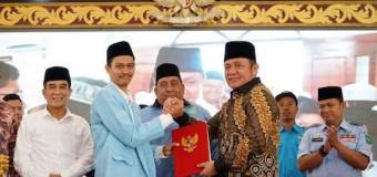 Gandeng BKPRMI, Gubernur Herman Deru Luncurkan Program Gerebek Masjid