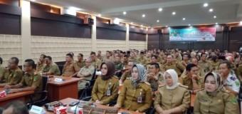 Tandatangani Fakta Integritas, ASN Kab. Empat Lawang Dituntut Disiplin dan Bisa Jadi Leader