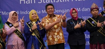 Gubernur HD Ajak Wong Sumsel Aktif Sukseskan SP Online 2020