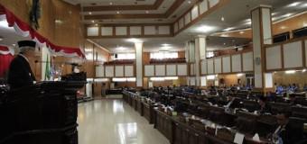 Wagub Mawardi Sampaikan Penjelasan 7 Raperda Usulan Pemprov
