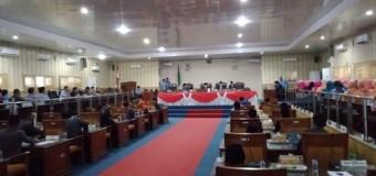 Rapat Paripurna DPRD Bahas Empat Raperda Empat Lawang