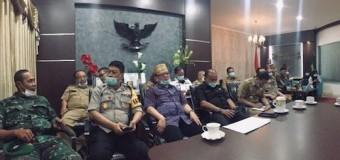 Bupati Bersama Unsur Forkopimda Ikuti Video Conference dengan Gubernur Sumsel