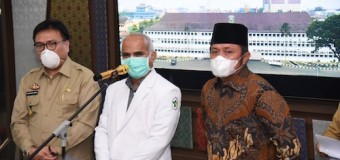 Herman Deru Benarkan Dua Pasien Dalam Pengawasan (PDP) di Sumsel Meninggal