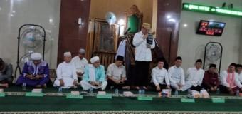 Bupati dan Wabup Hadiri Peringatan Isra Mi'raj di Masjid Jami' Tebing Tinggi