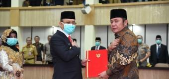 Herman Deru Serahkan SK Plt Bupati Muara Enim