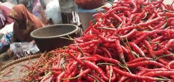 Cabai Merah Sumbang Deflasi Sumsel Bulan April
