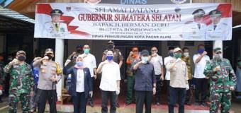 Herman Deru Pastikan Pasokan Sayuran dari Pagaralam Aman Selama Palembang-Prabumulih PSBBeru Akui Prabumulih Berhasil Turunkan Kurva Pasien Covid 19